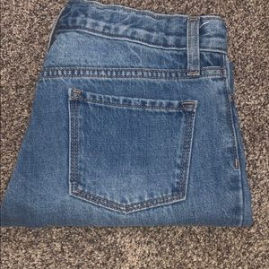 Old navy girls straight ankle jean